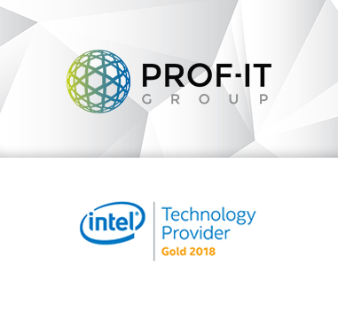 Корпорация Intel присвоила PROF-IT GROUP статус Gold Technology Provider